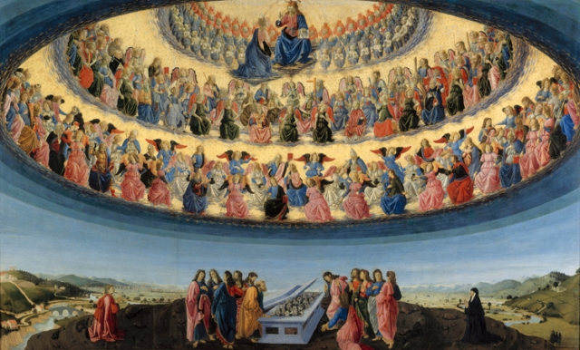 The assumption of the Virgin Francesco Botticini