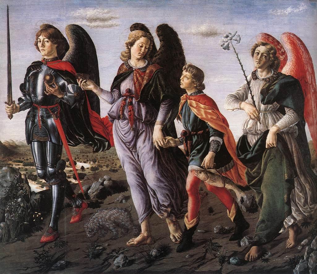 Archangels Michael Gabriel Raphael