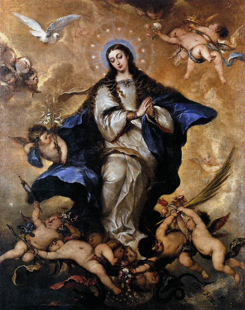 The Immaculate Conception Of Mary Catholicism Pure Simple