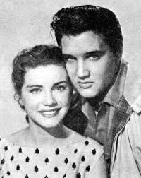 Hollywood actress Dolores Hart co-starring with Elvis Presley