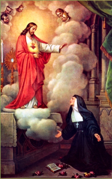 Image result for Consecration to the Sacred Heart of Jesus by St. Margaret Mary Alacoque