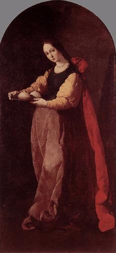 St Agatha, Virgin and Martyr