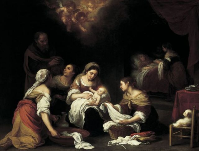 Birth of St John the Baptist  MURILLO