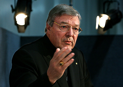 Sorry ... Sydney Archbishop Cardinal George Pell.