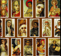 The Feast of All Saints is our celebration