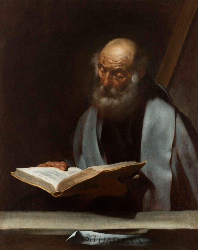 Jusepe de Ribera (Lo Spagnoletto), Saint Jude Thaddeus, c. 1609-10