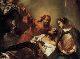 St Joseph, patron of a happy death