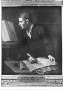 18th century depiction of Blessed John Duns Scotus