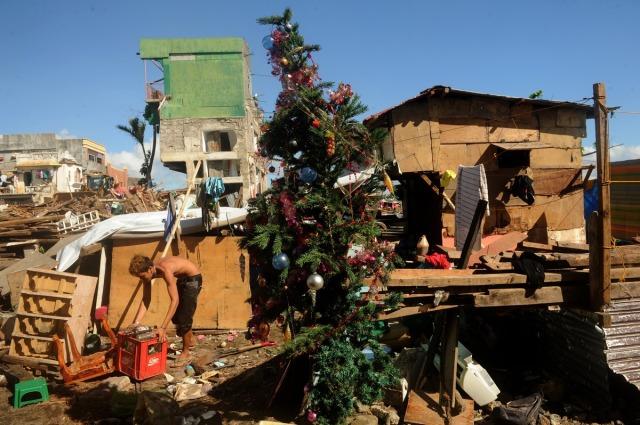Christmas 2013, Tacloban City, Leyte, Philippines