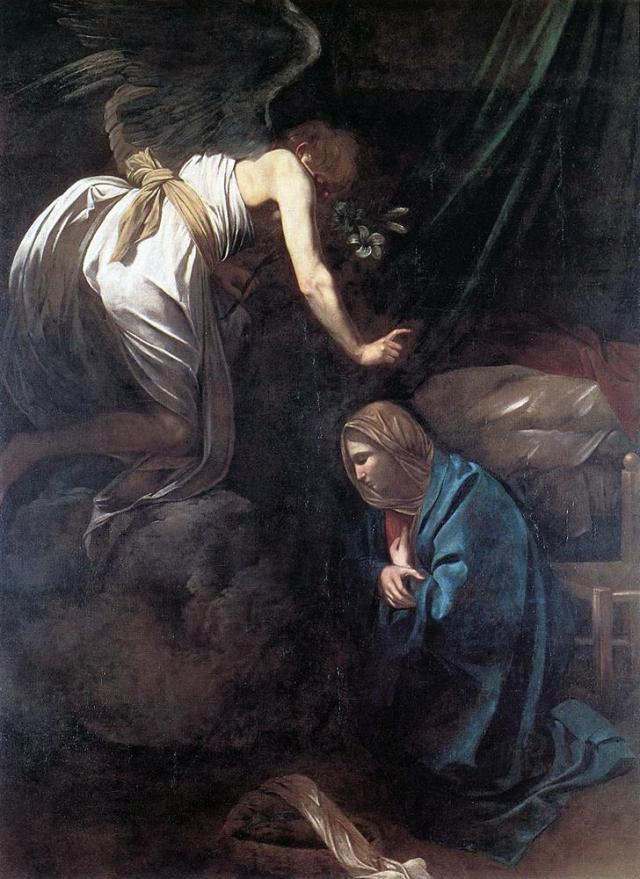 Caravaggio_-_The_Annunciation