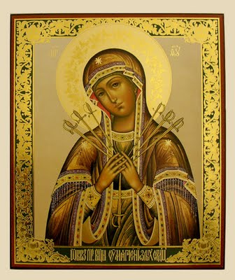 Icon of the Seven Sorrows of Mary