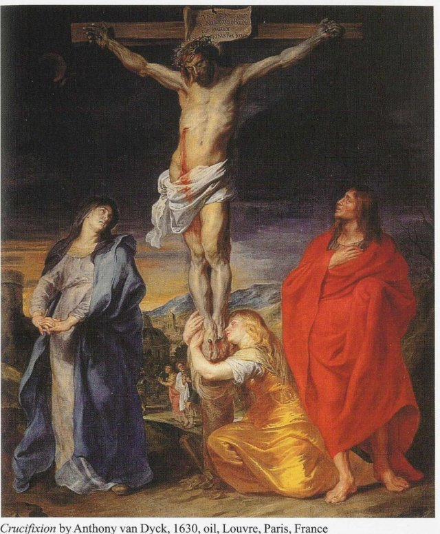 Crucifixion by Anthony van Dyck, 1630 (Louvre, Paris)