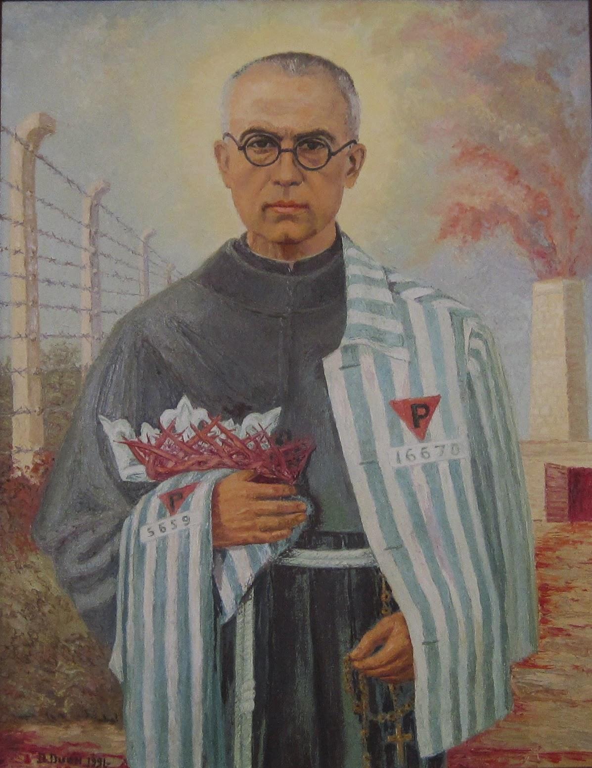 San Massimiliano Kolbe dans immagini sacre img_3256