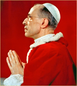 Pope Pius XII at prayer