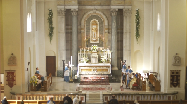 Adoration and vespers