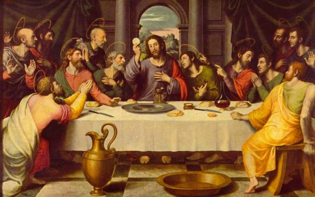 Jaume Huguet, Last Supper (1470)