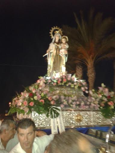 Our Lady of Mt. Carmel (taken with my smart phone)