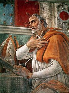 St. Augustine in his study – Sandro Botticelli (1480)