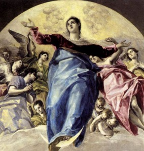 The Assumption of the Virgin Mary by El Greco
