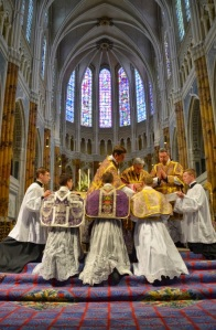 At the ordination of priests dedicated to the usus antiquior: Bp. Marc Aillet, June 28, 2014