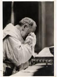 Padre Pio weeps