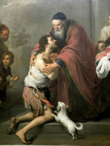 The Prodigal Son (detail) - Murillo