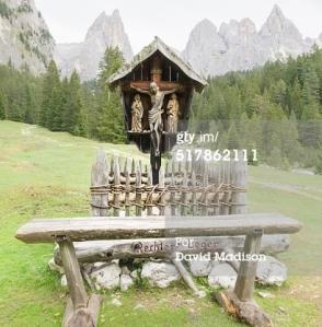 Shrine in South Tyrol, Italy