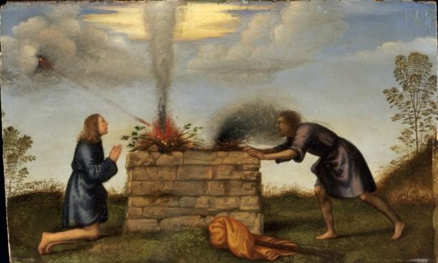 Cain & Abel – Mariotto Albertinelli, 16th c.