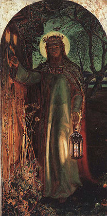 The Light of the World by William Holman Hunt