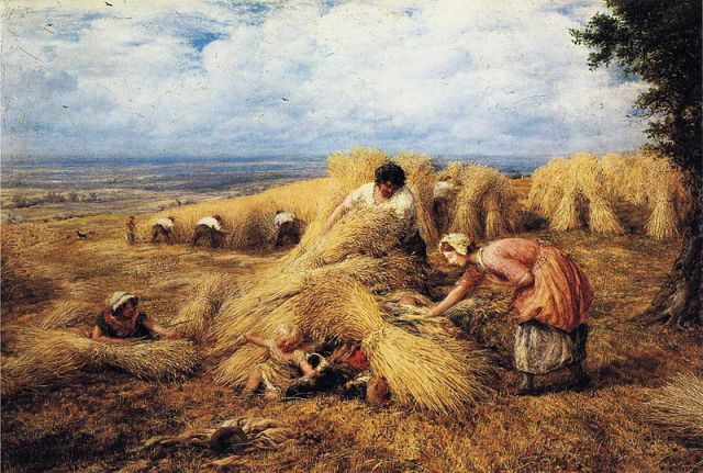 The Harvest Cradle - John Linnell