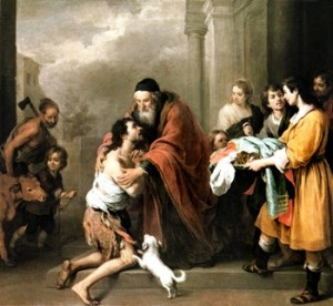 The Return of the Prodigal Son - Murillo