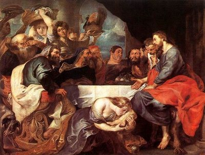 Feast of Simon the Pharisee - Rubens