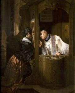 The Confession -Giuseppe Molteni
