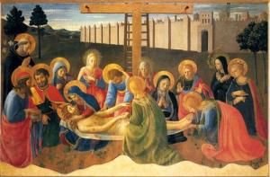 Lamentation over Christ - Fra Angelico