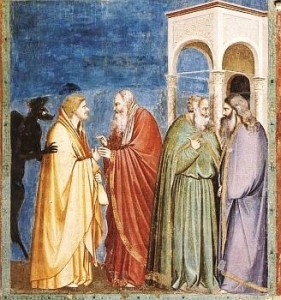 judas with the sanhedrin