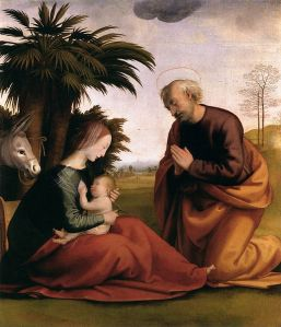 Great was the Faith and Courage of Holy St. Joseph