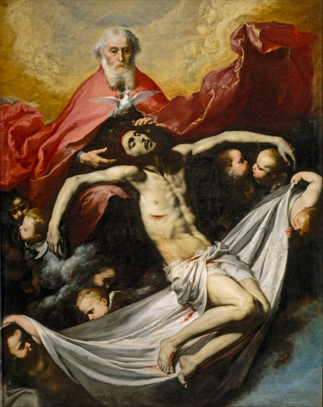Jusepe de Ribera - The Holy Trinity (1635)