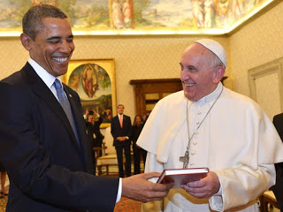 Obama is a big fan of the encyclical...surely that can only be a good sign?