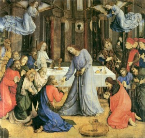 Communion of the Apostles - Justus Ghent