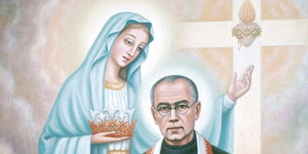 st maximilian kolbe writes about the immaculate. Black Bedroom Furniture Sets. Home Design Ideas