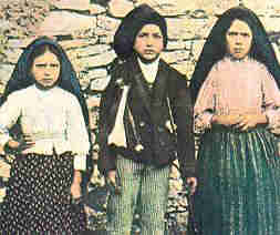 The three 'seers' of Fatima