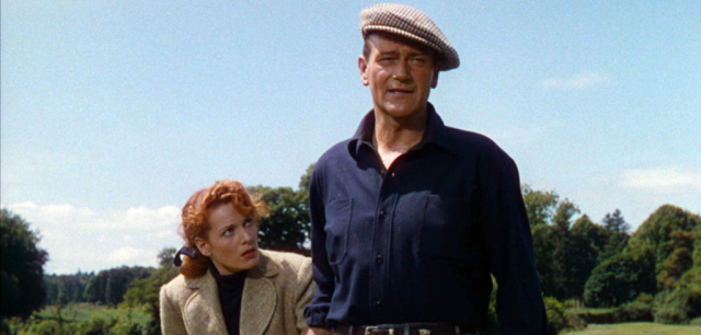 John Wayne and Maureen O'Hara in The Quiet Man (1952)