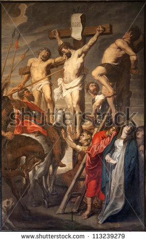 stock-photo-gent-june-christ-on-the-cross-between-two-thieves-by-pieter-pauwel-rubens-a-d-in-113239279
