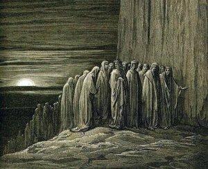 Dante's Purgatorio by Gustave Dore