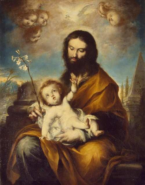 St Joseph with the Infant Christ - Torres Clemente