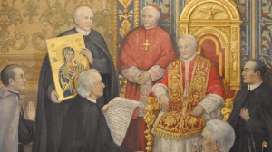 The Presentation of Our Lady of Perpetual Help to Pope Pius IX (picture taken from this site)