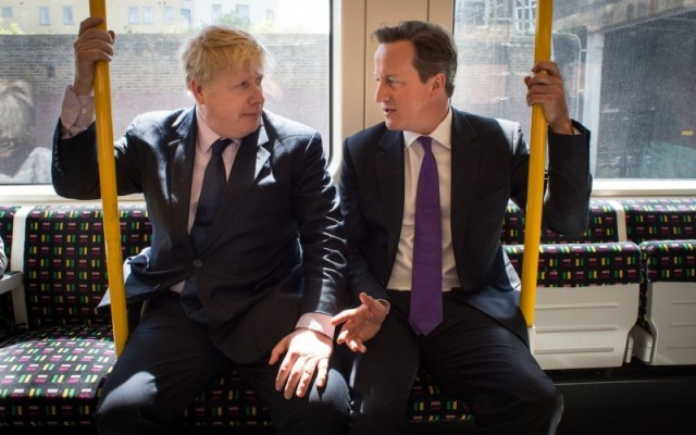 Boris Johnson and David Cameron, leaders of the Leave and Remain campaigns respectively (PA)