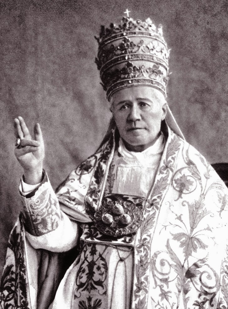 The 'Eucharistic Heart' of Pope St Pius X. | Catholicism Pure & Simple