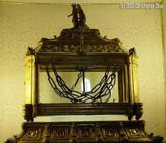 St Peter's chains held at San Pietro in Vincoli (Rome)