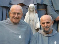 The two founders of the Order: Fr. Stefano Maria Manelli (left) and P. Gabriele Maria Pellettieri